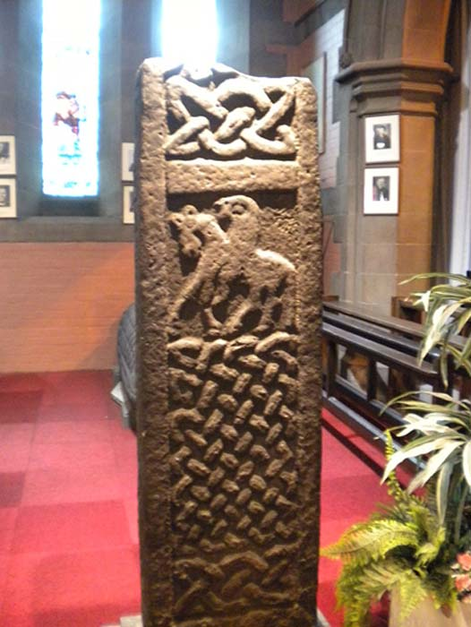 Cruz tallada en la antigua iglesia de govan. (CC BY-SA 3.0)