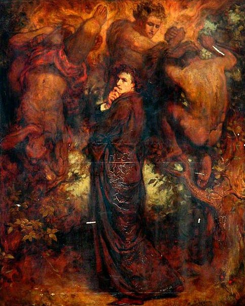 Dante (1882), Henry John Stock (Wikimedia Commons)