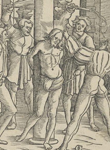 Una representación de Jesucristo siendo azotado. (Hans Leonhard Schäufelein /CC0)