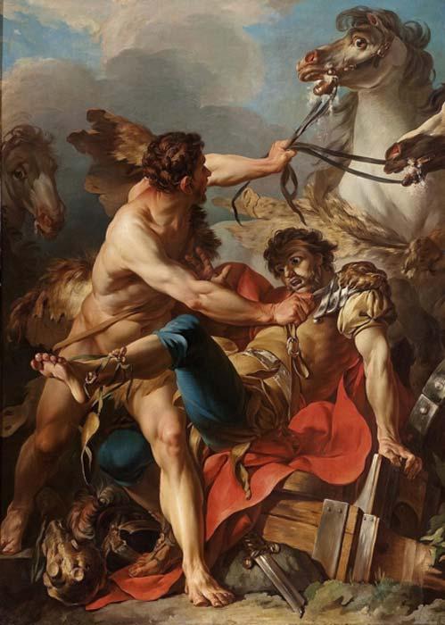 Diomedes fue asesinado por Hércules y devorado por caballos. (Shuishouyue / Dominio público)