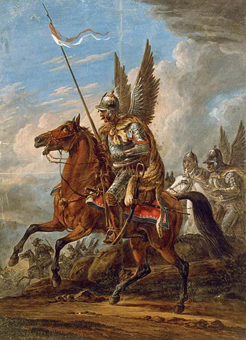 El ataque de Husaria: húsares alados, pintura de Orłowski. (BurgererSF / Dominio público)