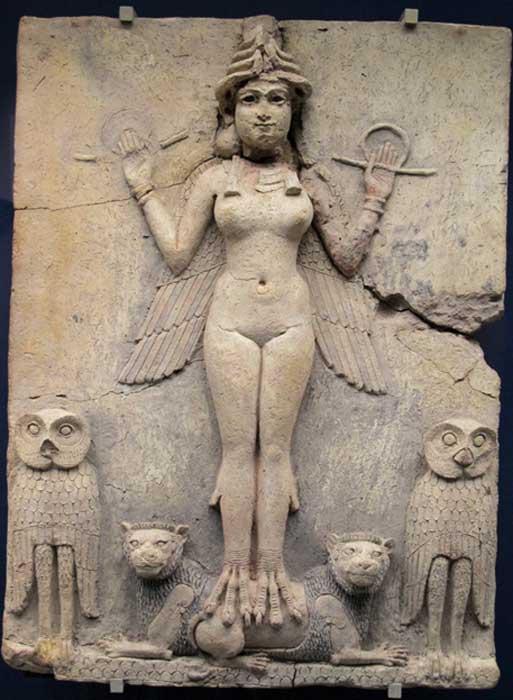 El Relieve de Burney descubierto en Mesopotamian está fechado entre 1800 y 1750 AC. (Flickr subir bot / CC BY-SA 2.0)
