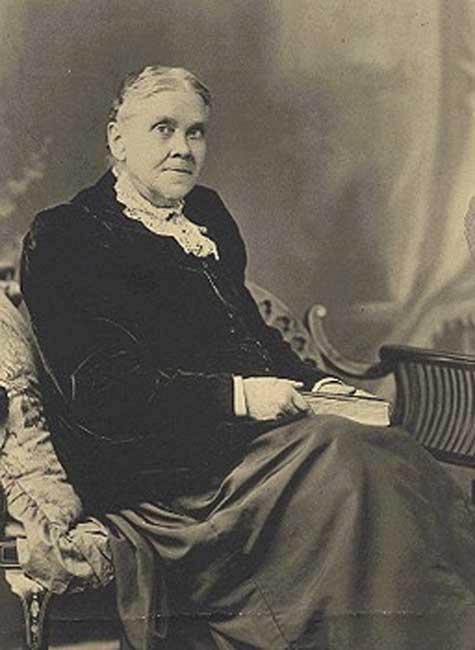 Elena de White en 1899. (Dominio público)