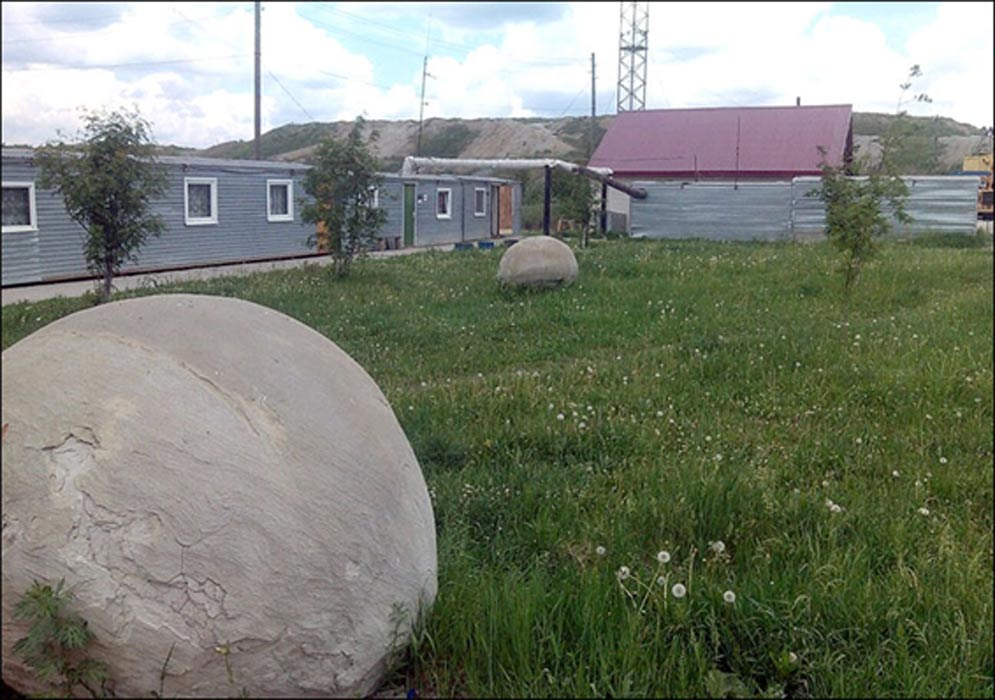 Las misteriosas esferas de piedra halladas recientemente en Siberia: Nazarovo TV