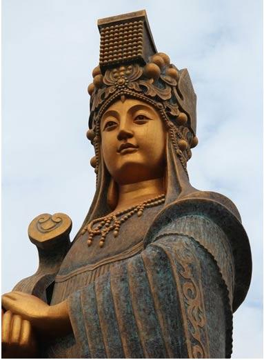 La estatua de Mazu más alta del mundo, 2013. Foto: Dli184