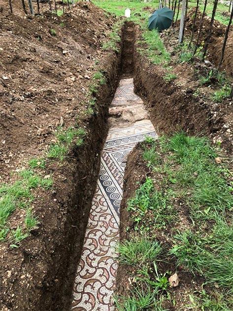 Aunque se requiere más excavación, la parte muy expuesta está casi intacta. (Imagen: Comune di Negrar di Valpolicella)