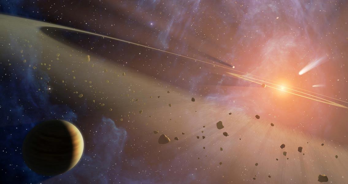 Una posible explicación a las variaciones de luminosidad de esta estrella podría ser la disgregación de exocometas en sus alrededores (NASA's Marshall Space Flight Center / flickr)