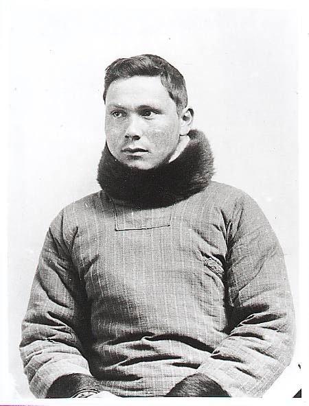 Jørgen Brønlund, explorador polar, educador y catequista católico inuit nacido en Groenlandia. (Dominio público)