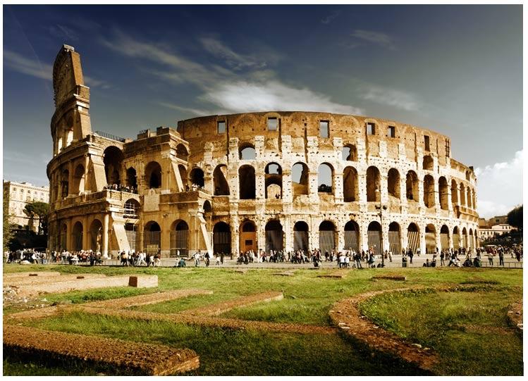El Coliseo de Roma. Fuente