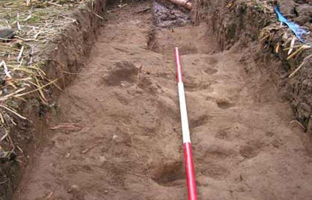Portada-La antigua carretera recién descubierta relacionada con la batalla de Fulford (Chas Jones)
