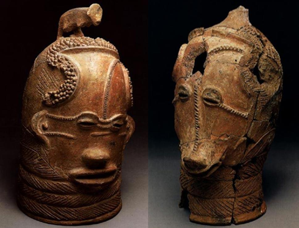 Dos de las cabezas de Lydenburg