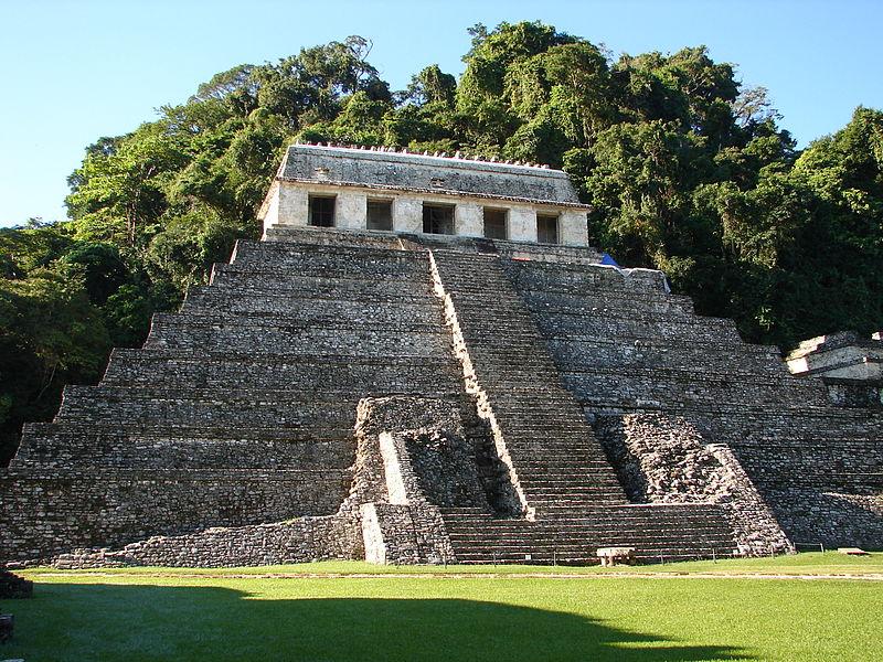 Portada: El increíble Templo de las Inscripciones de Palenque, México. Wikimedia Commons