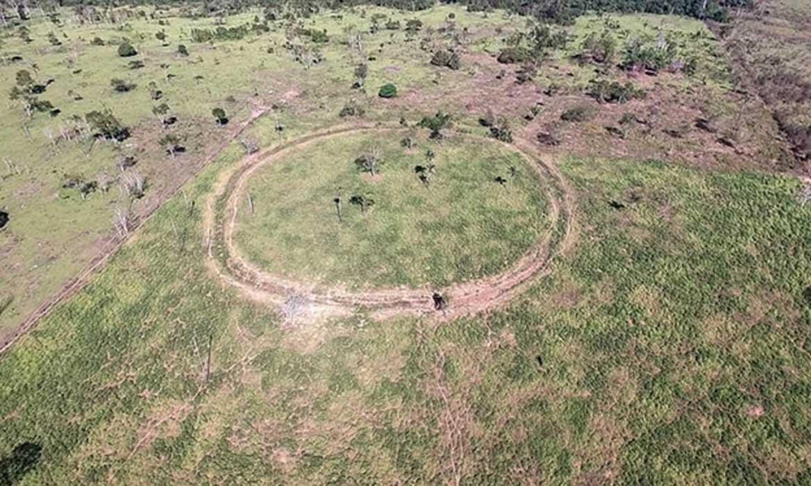 Portada - Los arqueólogos utilizaron imágenes de satélite para encontrar yacimientos arqueológicos en la cuenca superior del Tapajós, situada en la Amazonia. Fuente: University of Exeter/PA