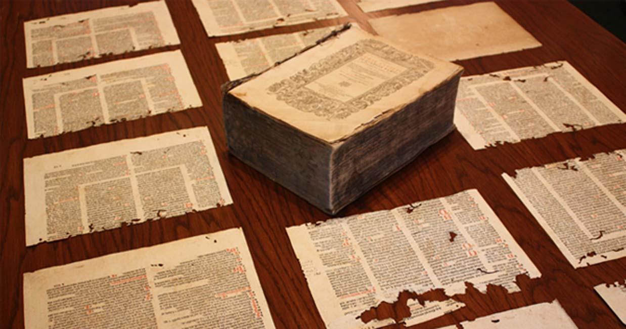 Portada - Edición de 1593 del Corpus Iuris Civilis. Fuente: Biblioteca Burns, Boston College/CC BY NC ND 2.0