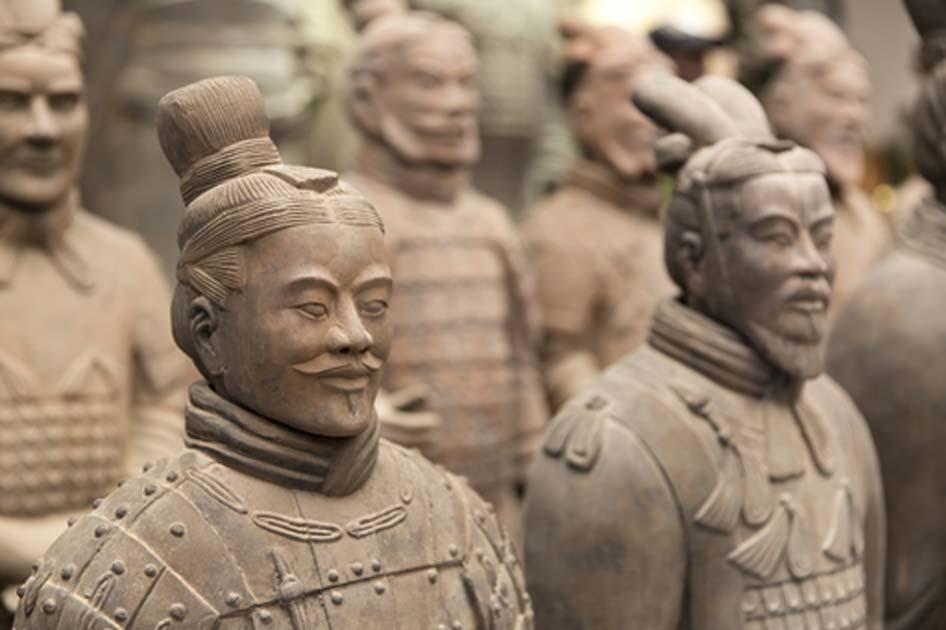 Portada - El famoso Ejército de Terracota chino. (BigStockPhoto)