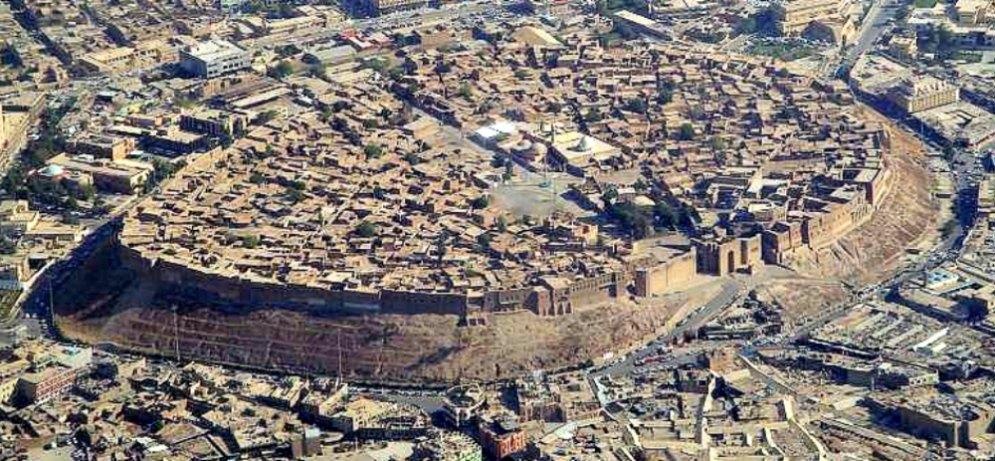 Portada - Vista aérea de la ciudadela de Erbil. (Fotografía: Jim Gordon/CC BY – SA 2.0)