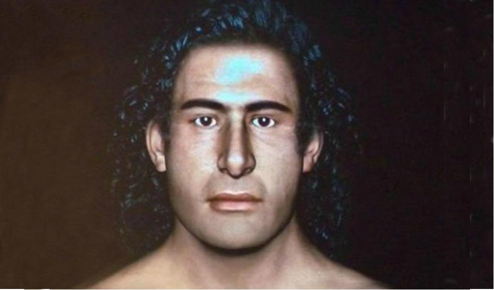 """Portada - Reconstrucción facial del """"Guerrero del Grifo."""" (Tornosnews)"""