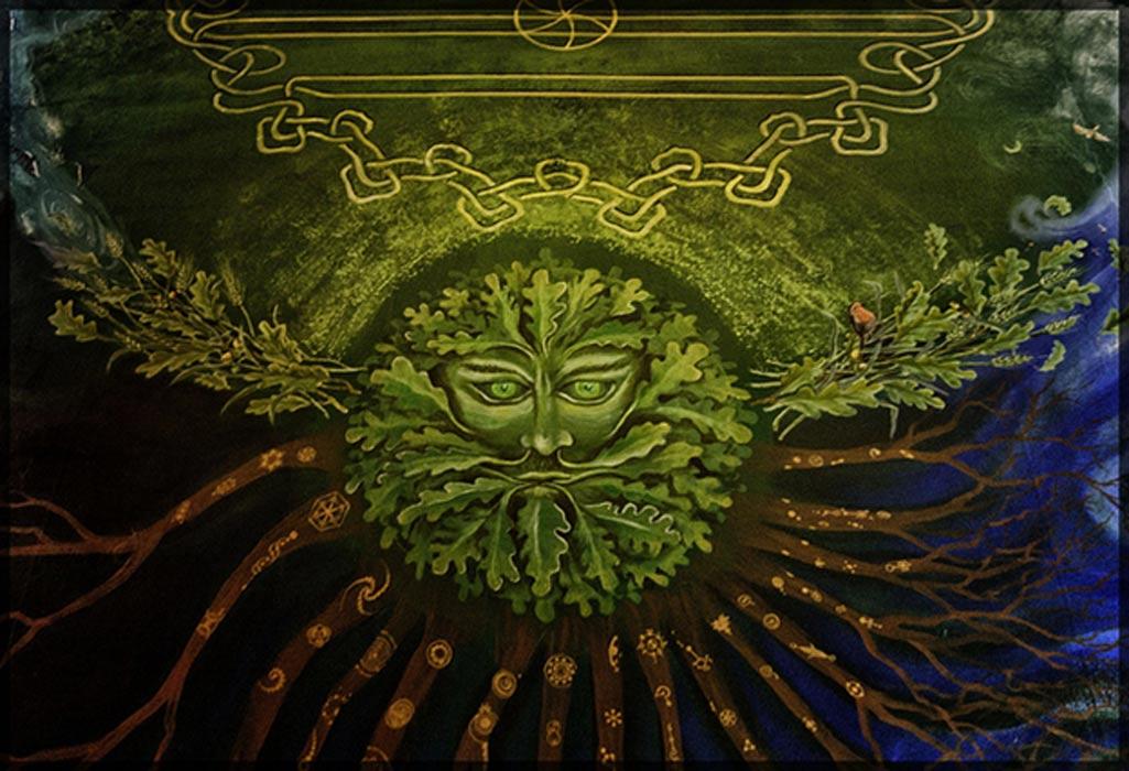Portada - Hombre Verde pintado sobre un techo (CC BY-NC 2.0)
