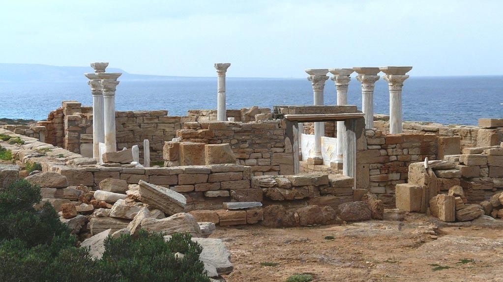 Portada - Una iglesia bizantina como ésta de Athrun (Libia), será reconstruida en Inglaterra. (Foto: Disdero/Wikimedia Commons)