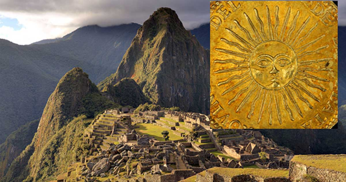 Inti El Dios Del Sol De Los Incas Hijo De Viracocha Y Antepasado