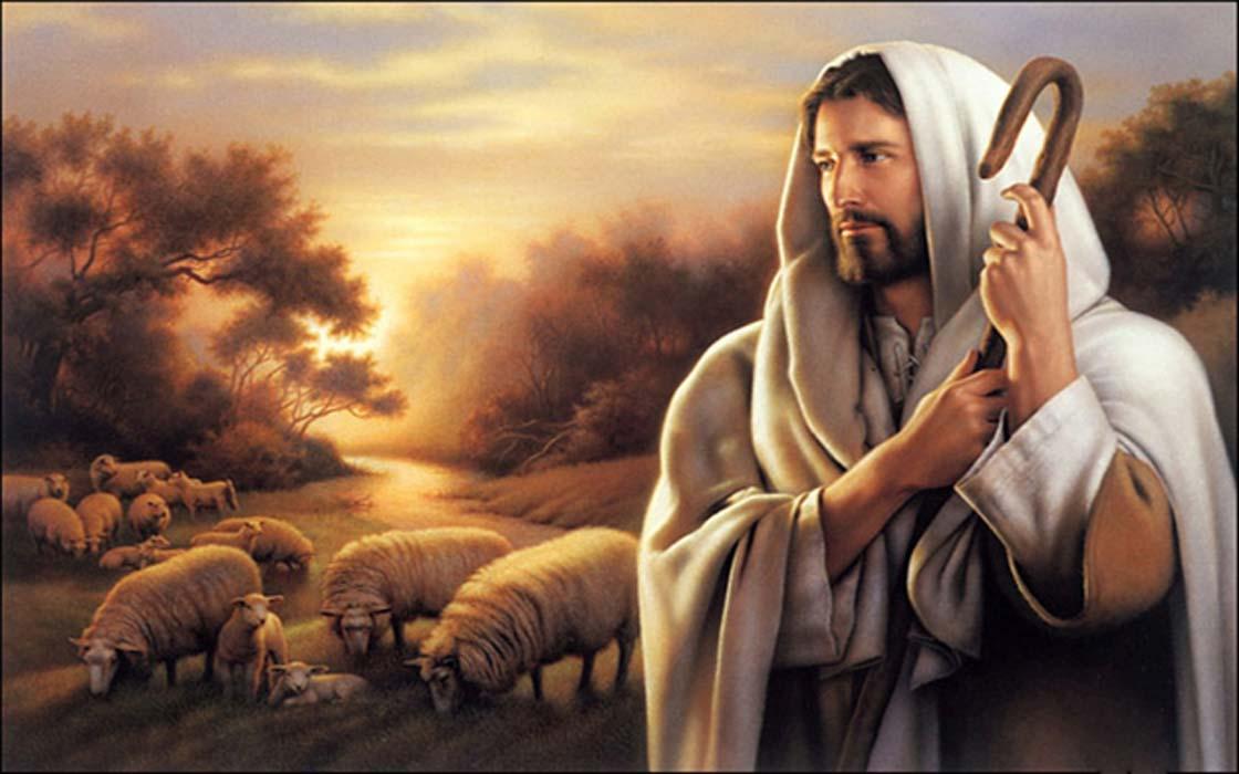 Portada - Un pastor (¿Jesús? ¿Tammuz? ¿otro personaje?) con su rebaño. (CC BY-SA 4.0)