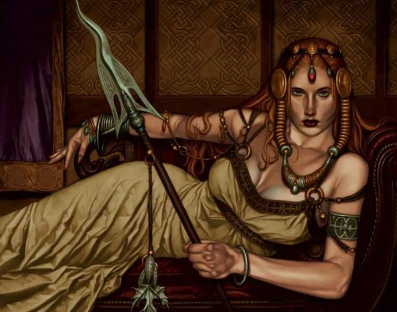 Portada - Moderna ilustración de Medb. (Lora O'Brien)