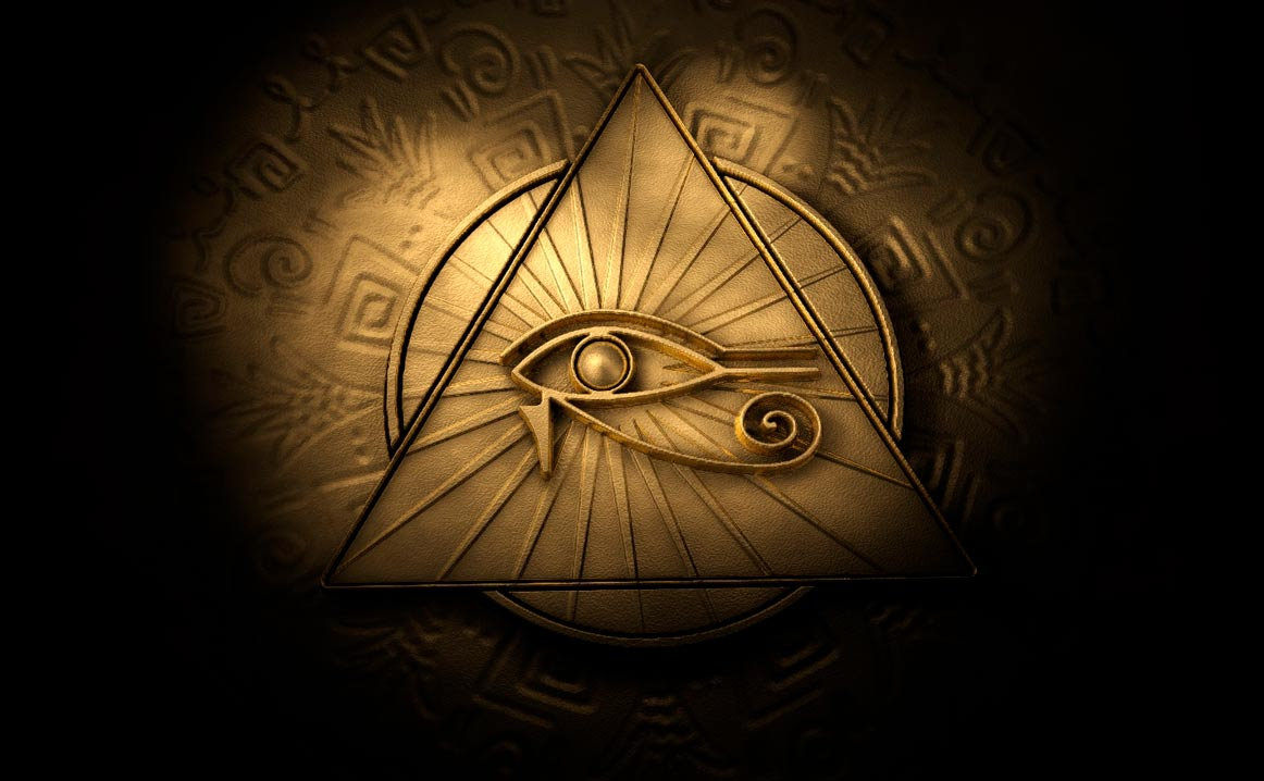 Portada - Colgante de un Ojo de Horus. Fuente: (Jon Bodsworth/Wikimedia)