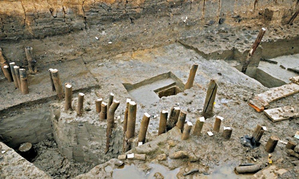 Portada - Fotografía del yacimiento arqueológico de Must Farm, Inglaterra. (La Gran Época/Must Farm)