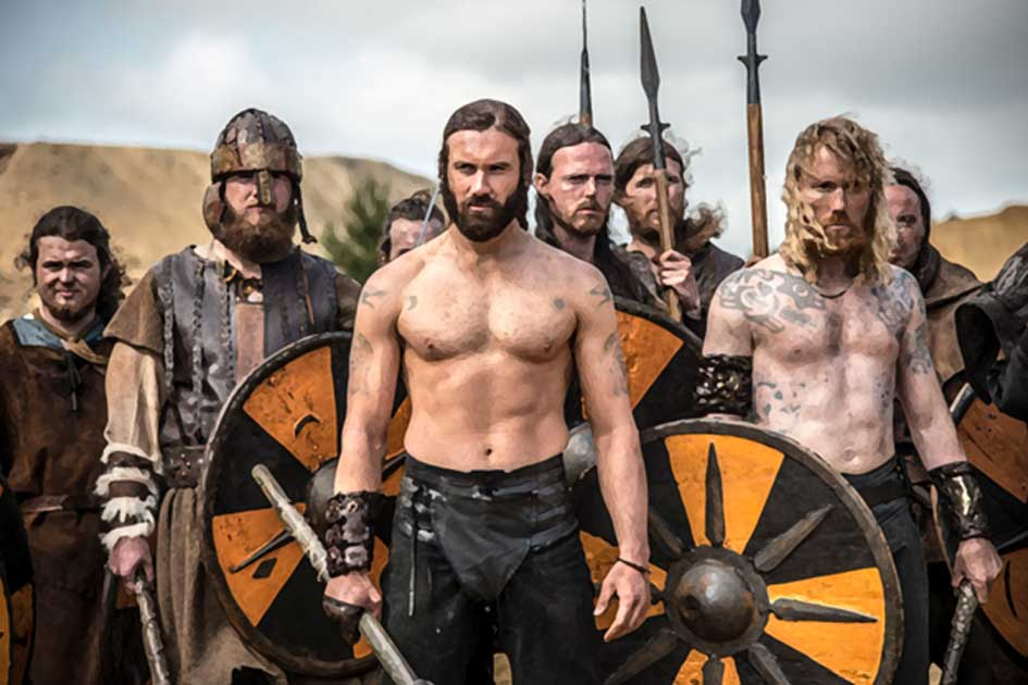 Portada - Imagen de 'Vikingos', serie dramática sobre la época vikinga emitida por el Canal Historia.