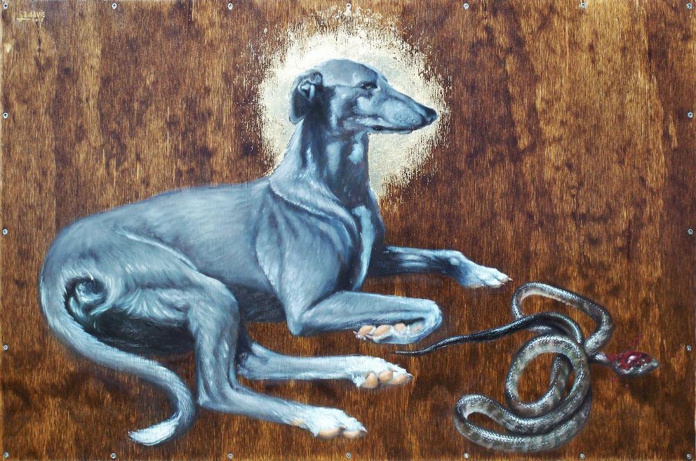 Portada - Ilustración de la historia de San Guinefort. (Adam Davis)
