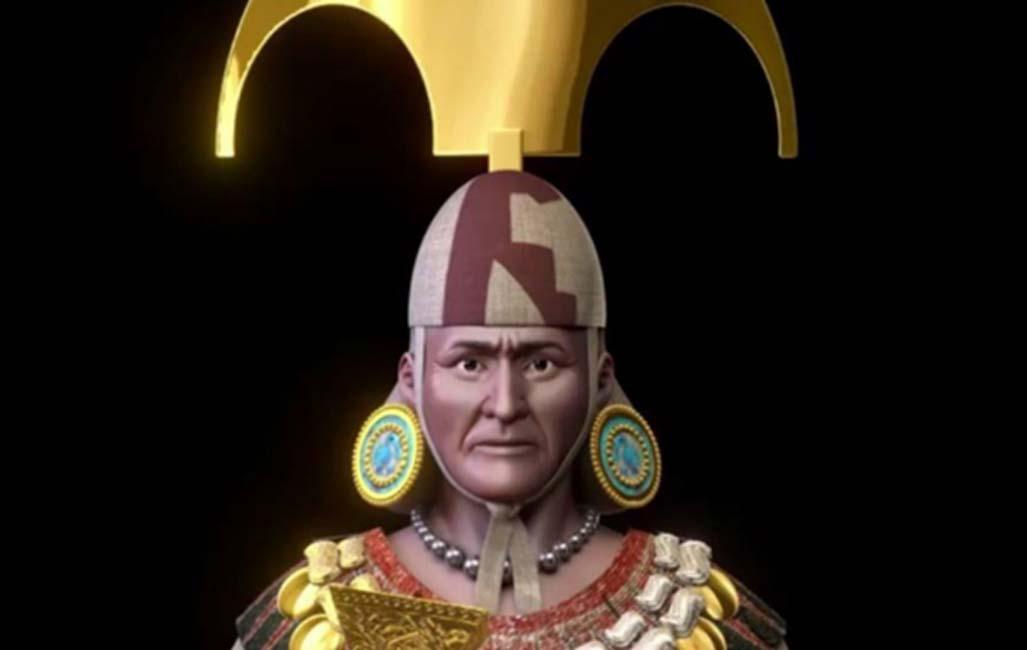 Portada - Reconstrucción digital del rostro del Señor de Sipán (ANDINA/Difusión)