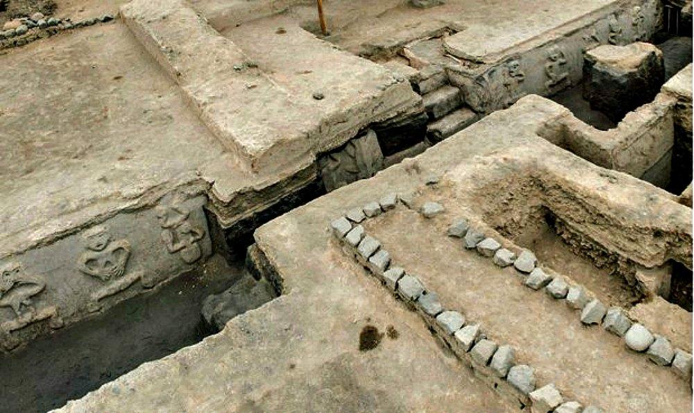 Portada - Fotografía de parte del complejo arqueológico de Vichama en Perú. (Fotografía: La República/EFE)