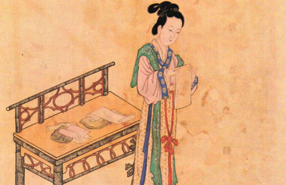 Portada-Xue Tao (768–831), fue una famosa poetisa china de la dinastía Tang, de talento comparable al de dos de las más famosas poetisas de la época, Yu Xuanji y Li Ye. (Public Domain)
