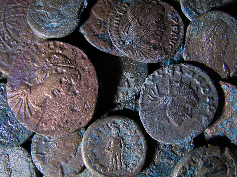 Portada-Antiguas monedas romanas (imagen meramente ilustrativa). Fotografía: Roger Smith (Flickr)
