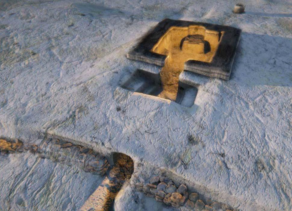 Portada - Imagen artística del sistema de baño de vapor maya, Guatemala. Fuente: Poitr Kolodziejczyk Jr/Science in Poland