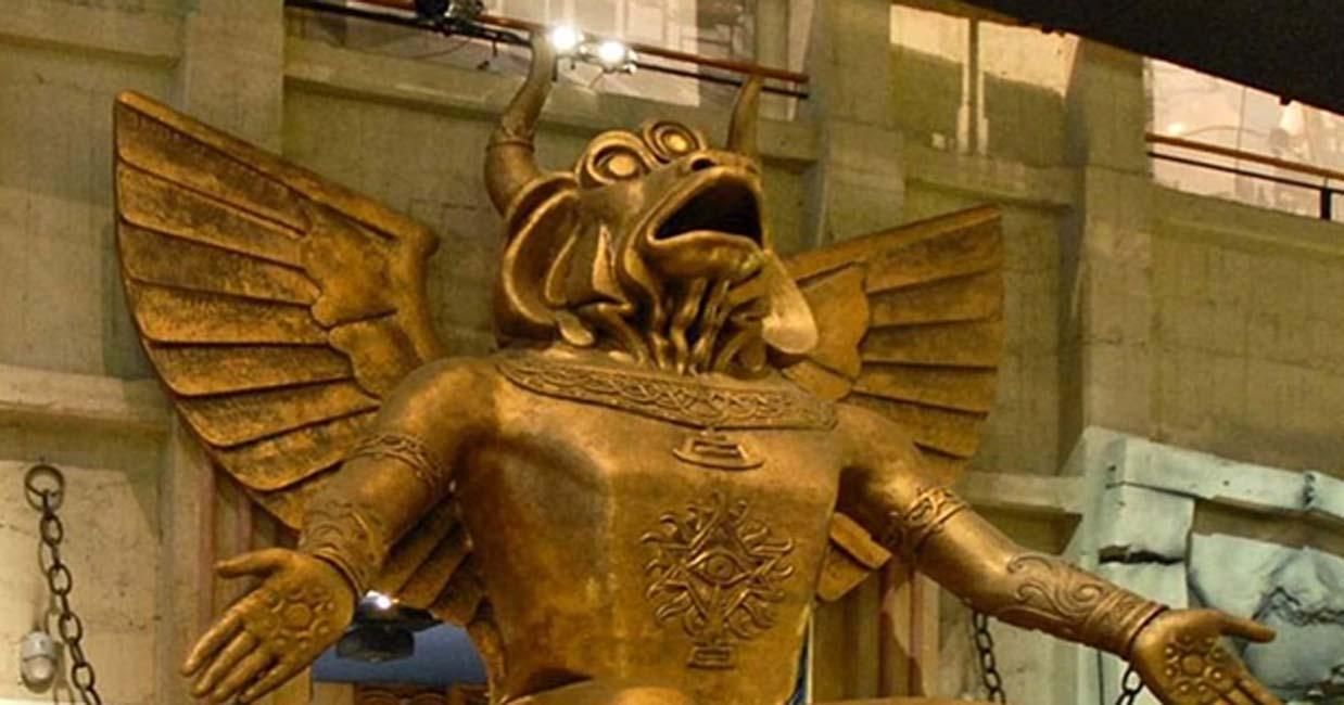 Portada - Estatua del dios Moloch, Museo del Cine de Turín. (Stella/CC BY-SA 4.0)