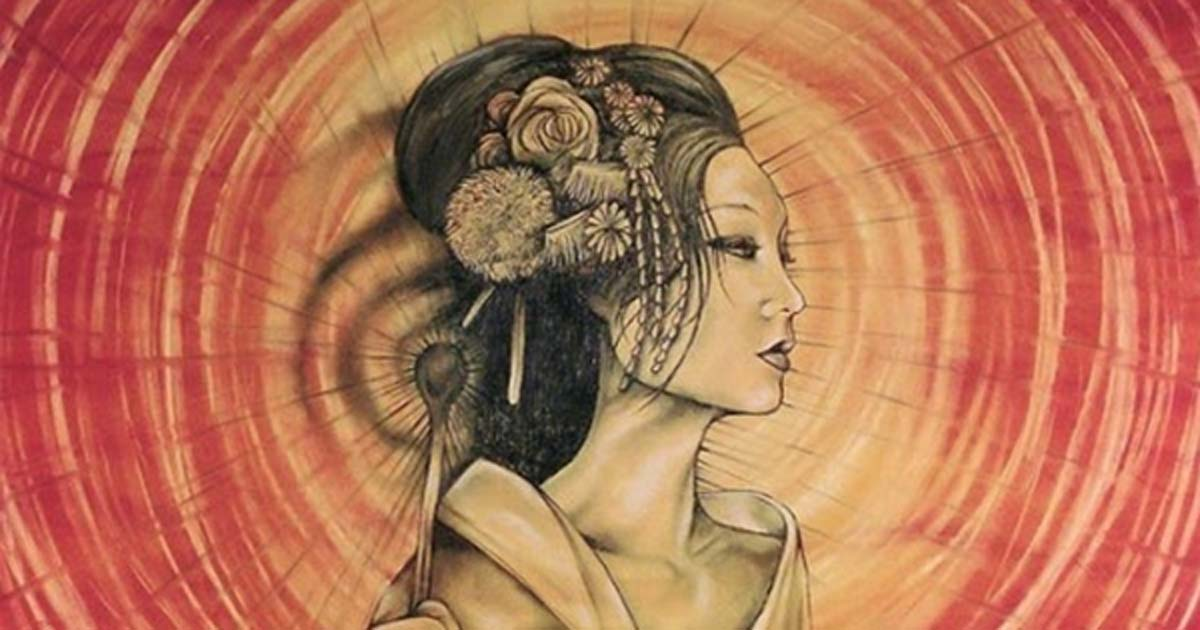 Portada - Amaterasu, diosa principal de Japón. Fuente: Dragons Fairies Elves & the Unseen