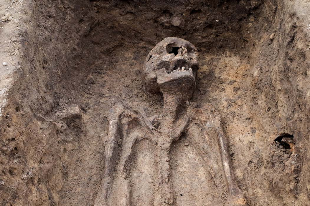 Portada - Esqueleto descubierto en unas excavaciones arqueológicas. Imagen meramente representativa (esben468635/Fotolia)