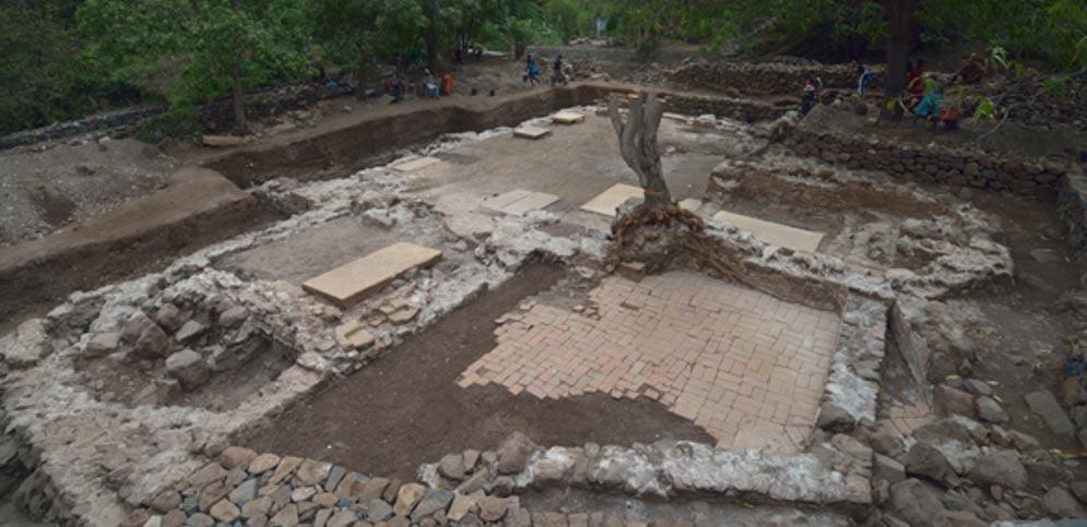 Portada-Excavaciones arqueológicas en la isla de Santiago, Cabo Verde (Fotografía: Universidad de Cambridge)