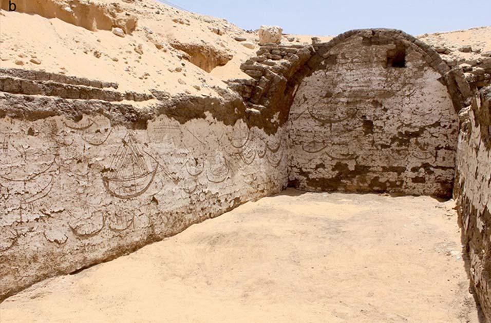 Portada - Estructura de hace 3.800 años con más de 120 grabados de embarcaciones del antiguo Egipto (Josef Wegner)