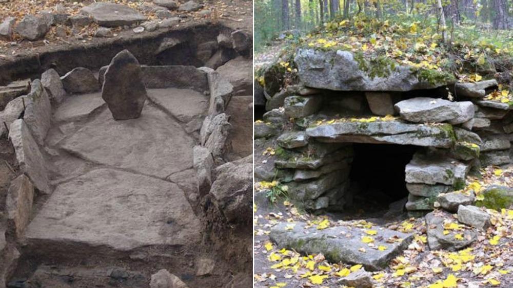 Portada - Dos de los sorprendentes megalitos de los Urales (Rusia). (Imagen: Código Oculto).