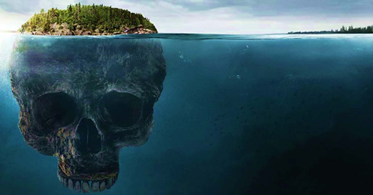 Portada - Impresión artística de la misteriosa Oak Island. Imagen: (Expanded Perspectives Podcast/Youtube Screenshot)