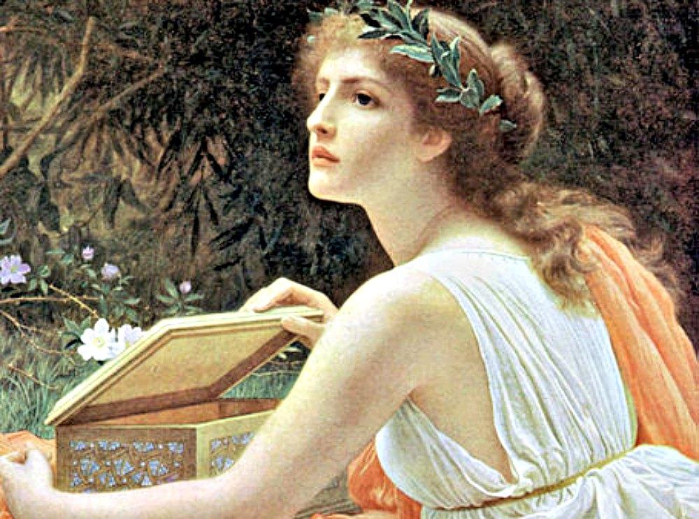 Portada - Detalle del óleo 'La caja de Pandora', de autor desconocido. (Dominio público)