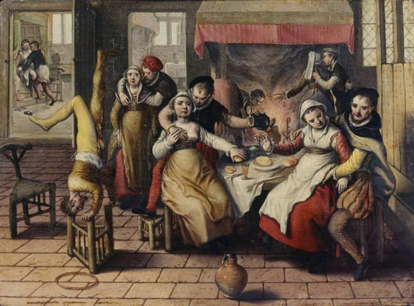 Portada - Joachim Beuckelaer, Burdel. (Public Domain)