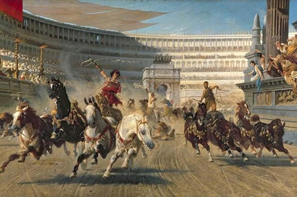 Portada - Carrera de cuadrigas en la antigua Roma (Universidad de Wisconsin)