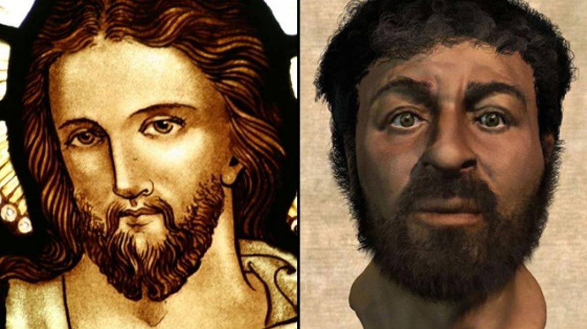 Portada-Dos versiones muy diferentes del mismo personaje histórico, Jesús. (composición)