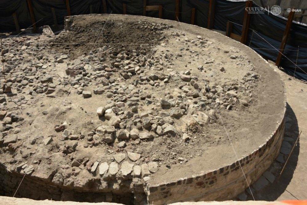 Portada - Templo a Ehécatl. (Fotografía: Mauricio Marat/INAH)
