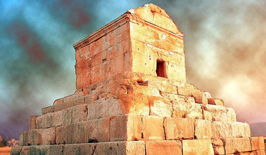 Portada - Tumba de Pasargada en Shiraz, Irán (CC BY SA 3.0)