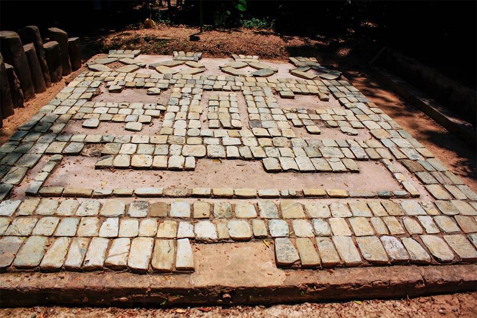 antiguo altar de la cultura pre-maya. Fuente: Arthur Verea / Adobe Stock.