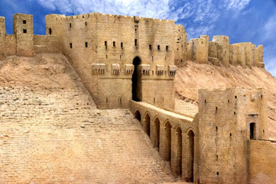 Entrada a la Ciudadela de Alepo Fuente: Shariff Che'Lah/ Adobe Stock